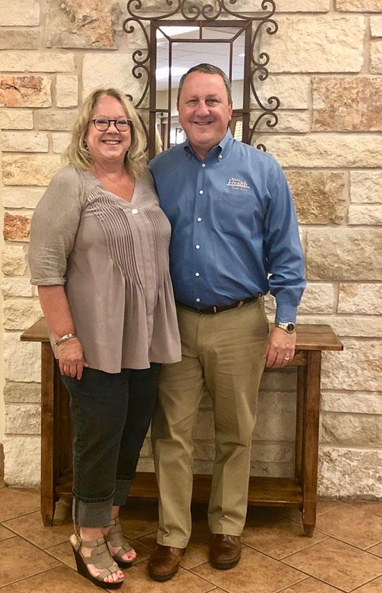 President Tammy Botkin and Vice President Steve Scott