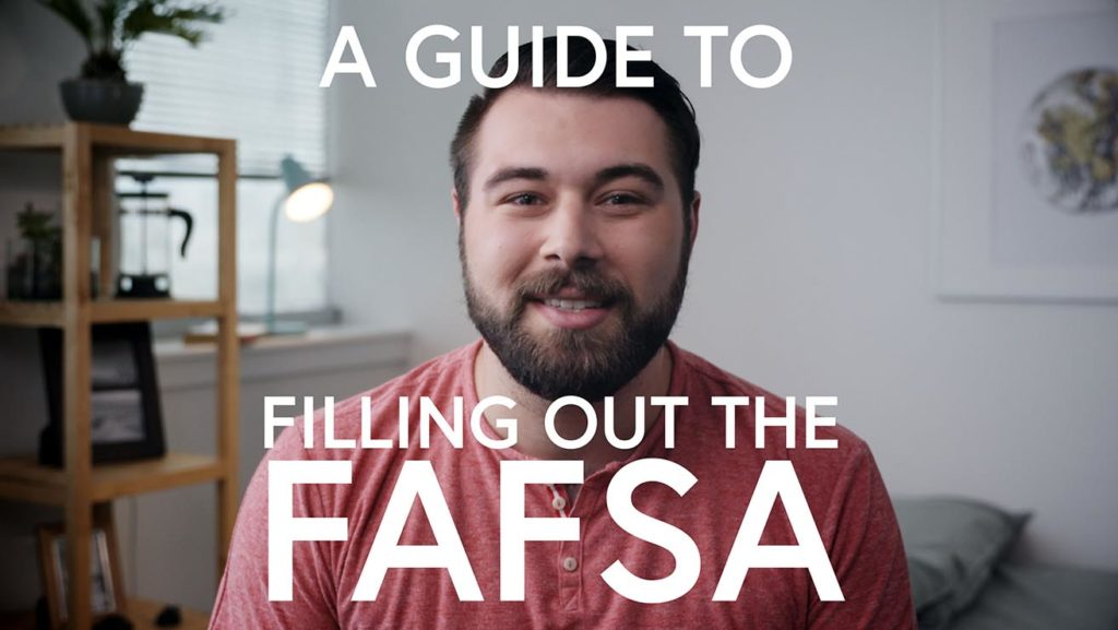 A guide to filling out the FAFSA
