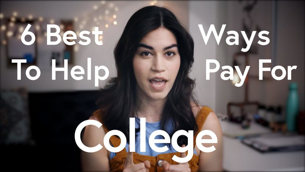 6 best ways to help pay for college.