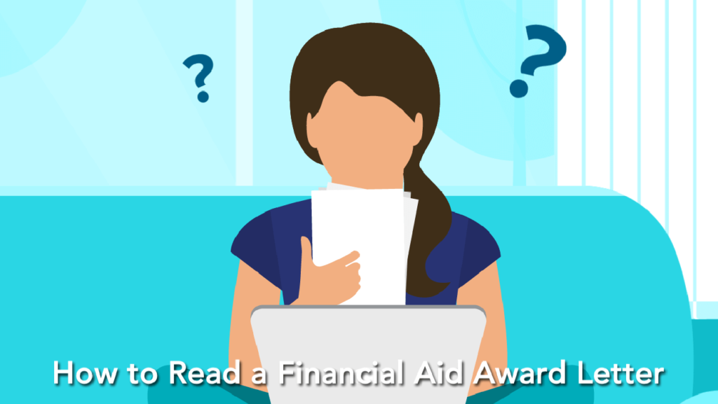 How to eead a financial aid award letter