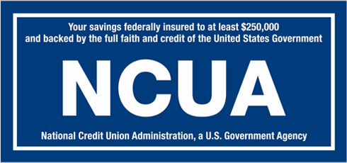 NCUA: Federally Insured by the National Credit Union Admin.
